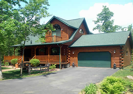 Custom Log Home Kits