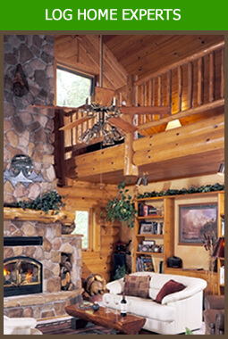 Log Home Builder Illinois and Log Cabin Builder Illinois