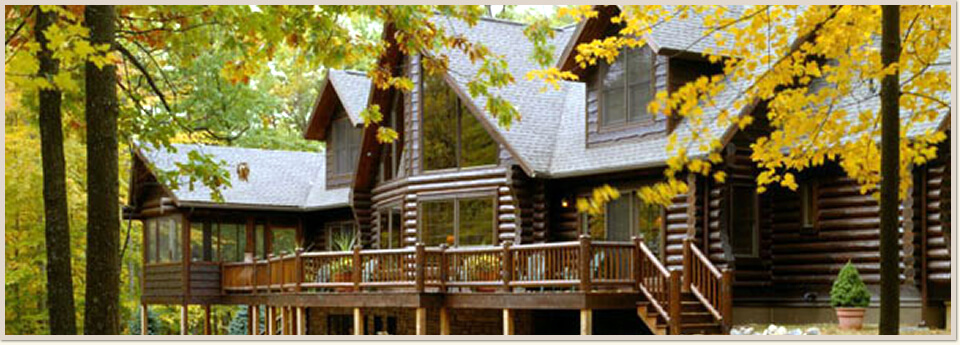Log Home and Cabin Maintenance Dutch Hollow Lake WI