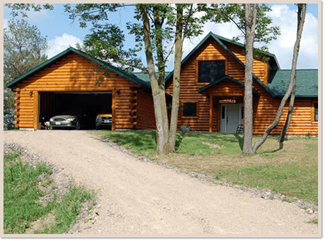 Log Home Repairs Castle Rock Lake