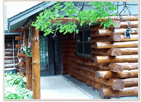 Log Home Restoration After