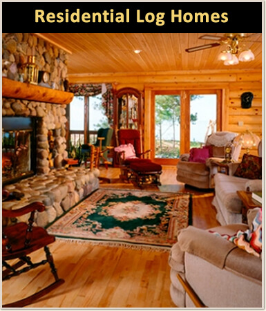 Log Home Remodeling Wisconsin, Iowa, Minnesota, Michigan, Illinois, And The  Upper