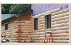 Log Cabin Remodeling Wisconsin, Iowa, Minnesota, Michigan, Illinois, and the upper Midwest
