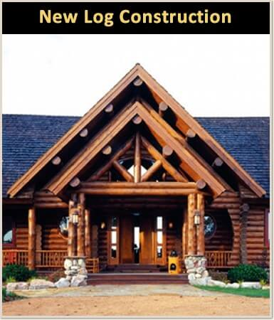 Log Home Builder Lake Wisconsin and Log Cabin Builder Lake Wisconsin